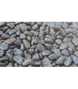 Piedras para jardin de basalto negro