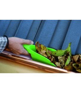Paleta limpia canalones tejados