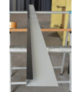Perfil de ventana de aluminio (unidades de 2 ml)