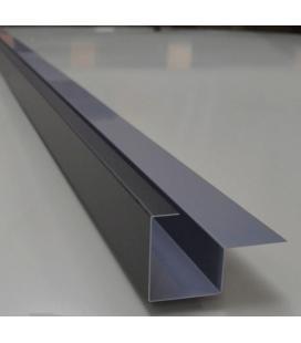 Canaleta lateral aluminio (unidades de 2 ml)