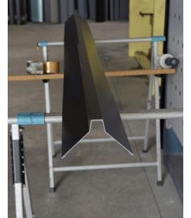 Caballete para cumbreras de aluminio (unidades de 2 ml)
