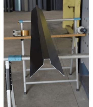 Caballete para cumbreras de aluminio