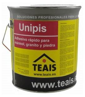 Teais Unipis adhesivo rápido para reparar encimeras, peldaños, piedra