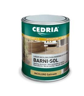 Cedria Barni Sol lasur incoloro para el acabado de la madera