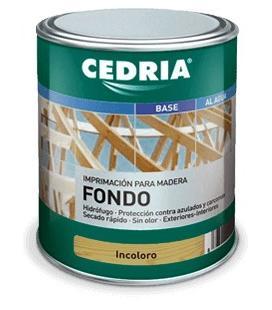 Cedria FONDO Imprimación tratante plus para madera pino