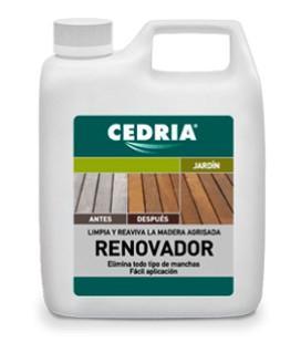 Cedria Renovador para maderas agrisadas contra manchas