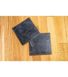 Posavasos de pizarra natural (10x10cm)