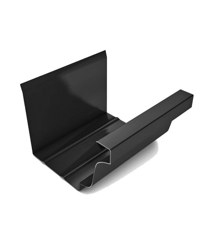 Canal n de aluminio en forma de cornisa con un desarollo - Canalon de aluminio ...