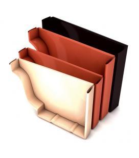 Tapa lateral para canalón de aluminio