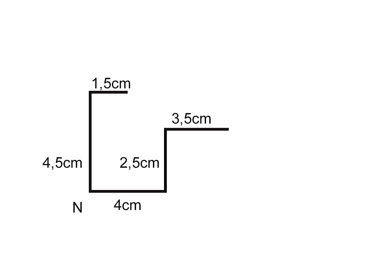 Medidas de una canaleta perfil para tejado