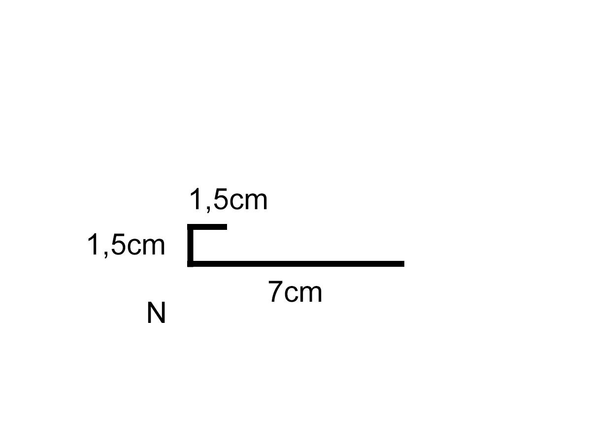 Perfil de ventana dimensiones aluminio o chapa