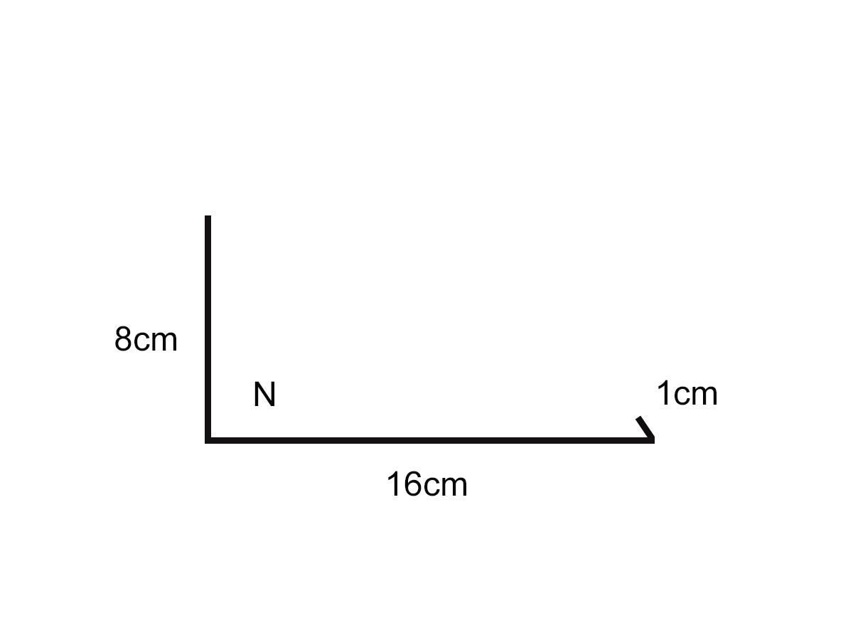 Dibujo de perfil trans-chimenea